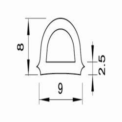 TOP MULTI Fenster- und Türdichtung in verschiedenen Ausführungen und Längen