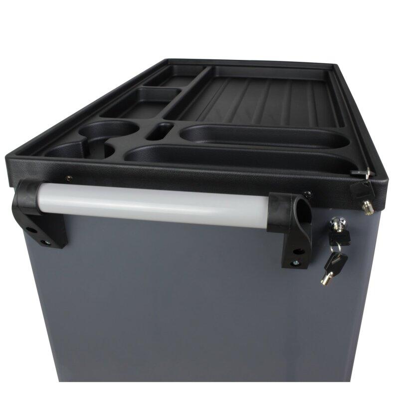 werkzeug rollcontainer mit 7 schubladen inkl werkzeugausstattung top liefert. Black Bedroom Furniture Sets. Home Design Ideas