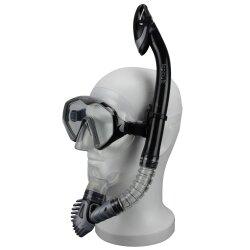 TOP MULTI Taucherbrille Schwimmbrille mit & ohne Schnorchel