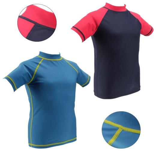 TOP MULTI Badeshirt UV-Shirt für Kinder mit UPF 50+