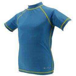 TOP MULTI Kinder-UV-Shirt türkis Gr. 86/92