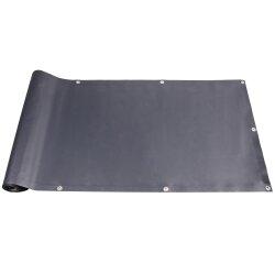 TOP MULTI Balkon Sichtschutz PVC Balkonbespannung Anthrazit 0,90m x 6m