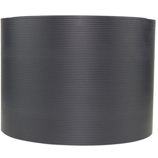 TOP MULTI Sichtschutzstreifen aus formstabilem PVC  in anthrazit - 10 Streifen