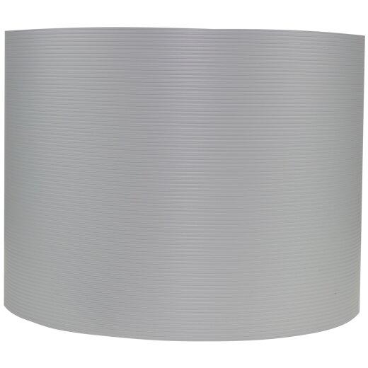 TOP MULTI Sichtschutzstreifen aus formstabilem PVC  in hellgrau - 5 Streifen