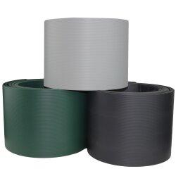 TOP MULTI Sichtschutzstreifen aus formstabilem PVC  in hellgrau - 10 Streifen