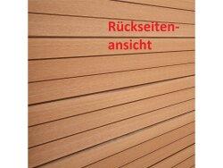 TOP MULTI WPC Zaun NEU Sichtschutz Windschutz in zwei Farben