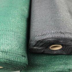TOP MULTI Tennissichtschutz Tennisnetz Bauzaun Gartenzaun ANTHRAZIT 1,2m x 25m